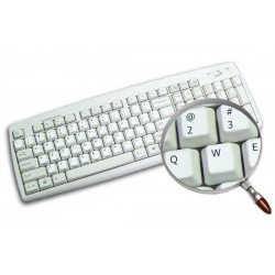 Arabic transparent keyboard stickers