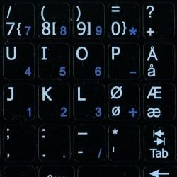 Norwegian Notebook keyboard...