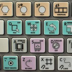 Autodesk Maya Galaxy series...