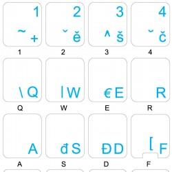 Czech transparent keyboard...