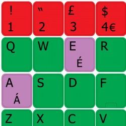 Learning English UK Colored...