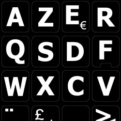French AZERTY Large...