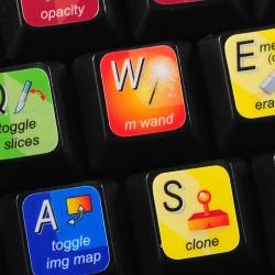 ImageReady keyboard sticker