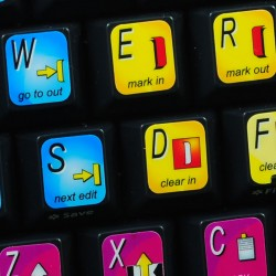 Avid Xpress keyboard sticker