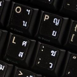 Thai transparent keyboard...