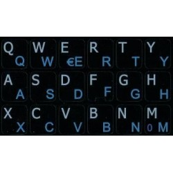 Italian English Notebook keyboard sticker