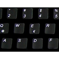 Replacement Spanish Latin American keyboard sticker