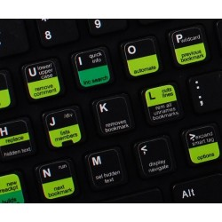 Visual Studio keyboard sticker