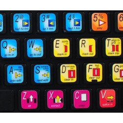 Avid Media Composer keyboard sticker