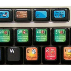FRUITY LOOPS keyboard sticker