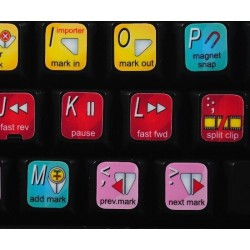 Avid Studio keyboard sticker