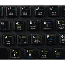 CAT DV keyboard sticker