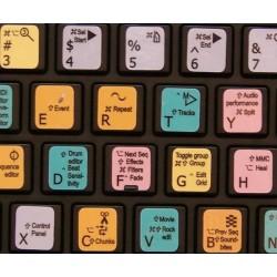Motu keyboard sticker
