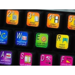 SONY ACID keyboard sticker