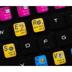 ZULU DJ keyboard sticker