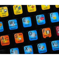 CINEMA 4D keyboard sticker