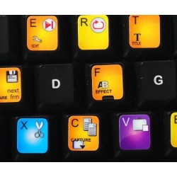 Corel VideoStudio keyboard sticker