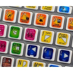 Sony Vegas keyboard sticker
