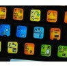 Microsoft Word keyboard sticker