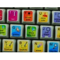 Corel Painter keyboard sticker