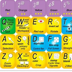 APERTURE keyboard sticker