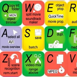 Movie Edit keyboard sticker