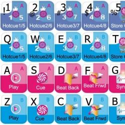 TRAKTOR PRO keyboard sticker