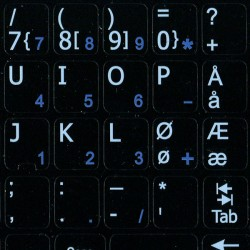 Norwegian Notebook keyboard...