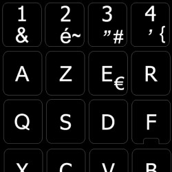 Replacement French AZERTY...