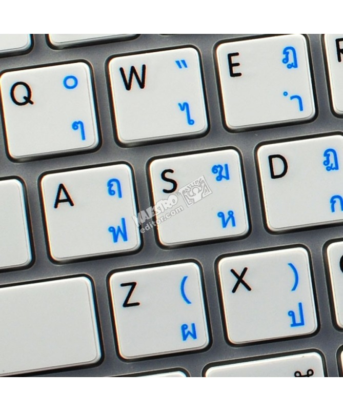 PASHTO NEW KEYBOARD STICKERS FOR WIN 7 WITH WHITE LETTERING ON TRANSPARENT BACKGROUND FOR DESKTOP LAPTOP AND NOTEBOOK