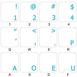 Dvorak transparent keyboard...