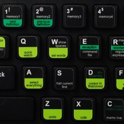 Visual Studio keyboard sticker