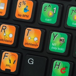 GROOVE PRO keyboard sticker