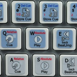 TRAKTOR PRO 2 keyboard sticker
