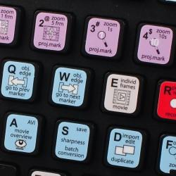 Video Pro X keyboard sticker