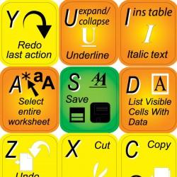Microsoft Excel keyboard...