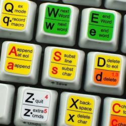 Vi and Vim Editor keyboard...