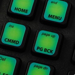 Bloomberg Terminal keyboard...
