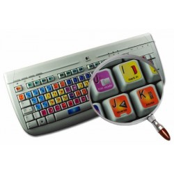 Avid Media Composer & Symphony Nitris keyboard sticker