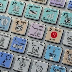 Cakewalk Sonar Galaxy series keyboard sticker apple