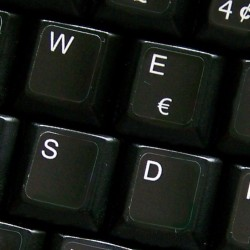 French QWERTY non...