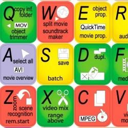 Movie Edit keyboard sticker