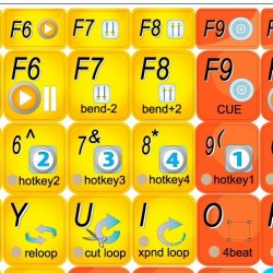 PCDJ REFLEX sticker